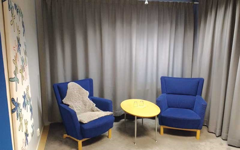 Swedish Barnahus: interview room