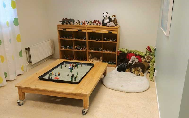 Swedish Barnahus: playroom